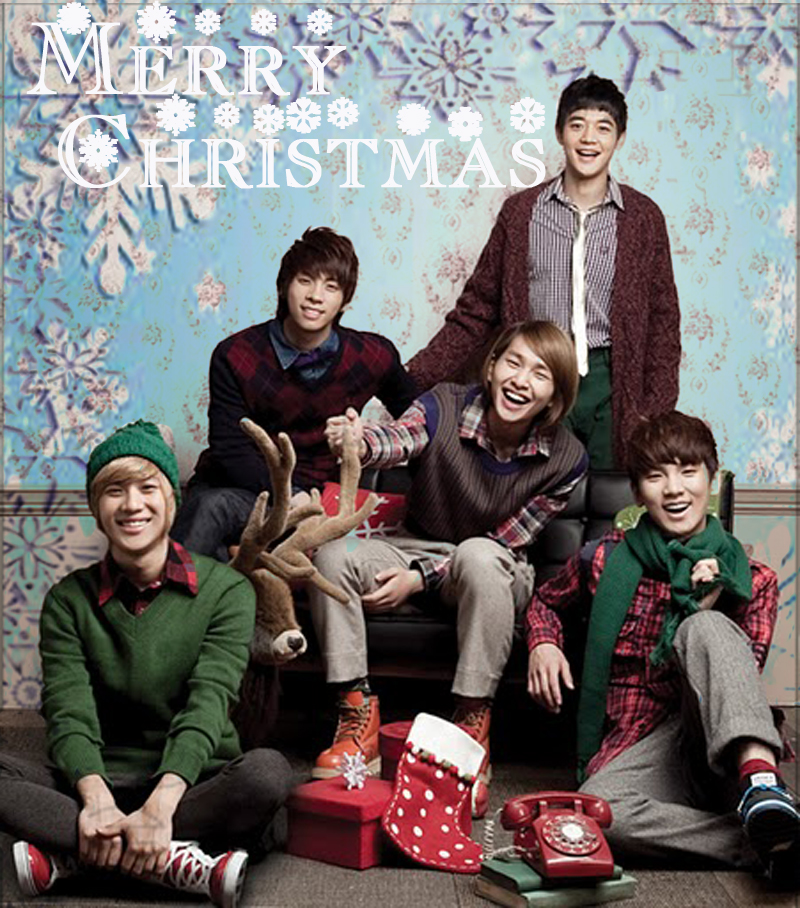 Wallpapers Shinee Christmas And New Year Iheartasia4ever